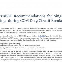 Smart Hub: Expert ACMV Recommendations for COV-19